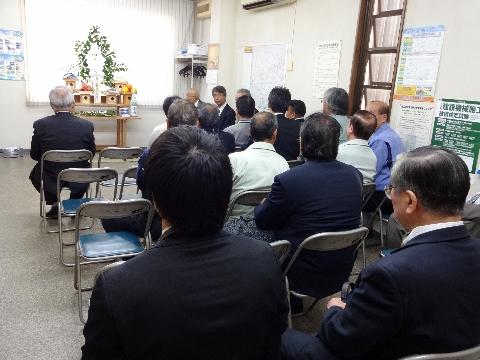 法人団体の年頭安全祈願祭