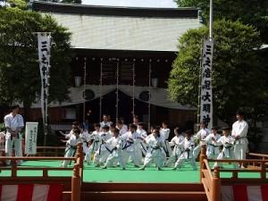 「日本空手道神奈川錬武舘」演武