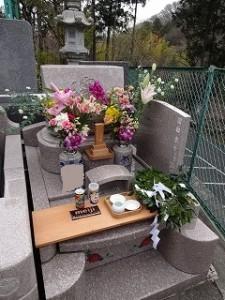 十年祭(墓前祭)