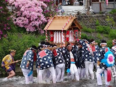 国府祭 金目川 ( 昨年 )