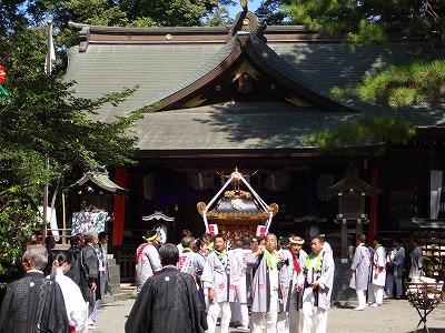 前鳥神社例祭 宮出し