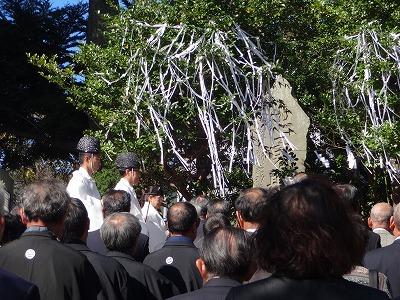 慰霊祭(昨年)