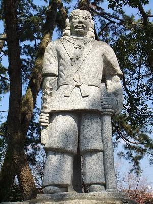 日本武尊像 ( 焼津神社 )