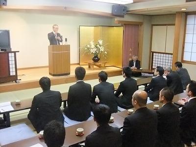 箱根神社宮司さまの講話