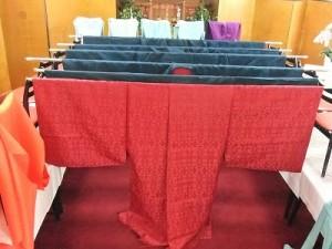 大祭で神職が身につける正服