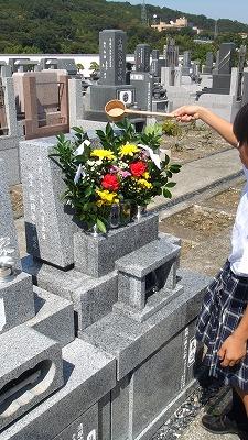 埋葬祭を終えて