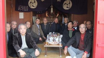 堀之内御嶽神社(平塚市南金目)