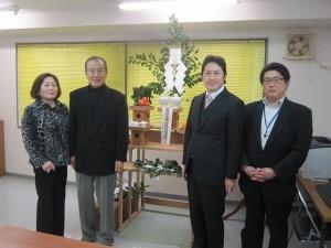 会社の社運隆昌安全祈願祭