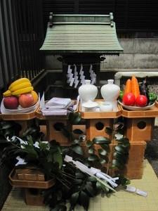 稲荷社奉還祭