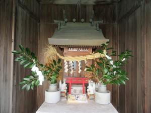 稲荷社の奉還祭