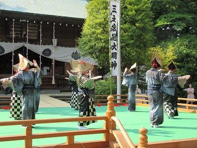 舞踊と唄(光風会)