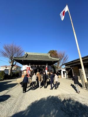 八坂神社(平塚市入野)