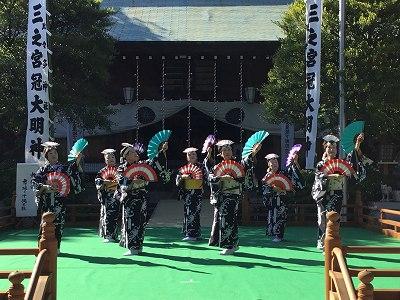 「光風会」舞踊と沖縄三線