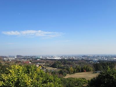 元宮(旧宮山)からの眺め