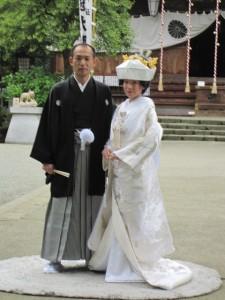 式後のお2人