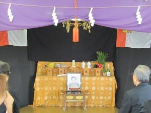 霊園内にある施設を利用しての一年祭