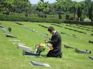 墓前でのおまつりも執り行われました