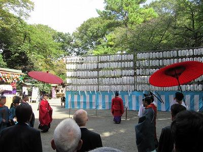 前鳥神社 例祭(修祓式)