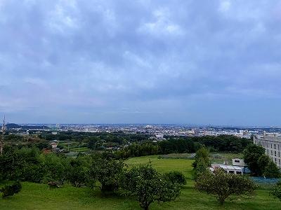 元宮からの眺め(夕方)