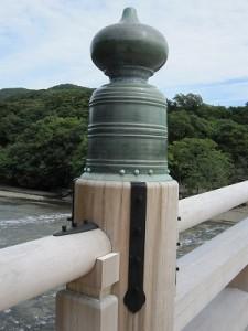 神宮 宇治橋の擬宝珠