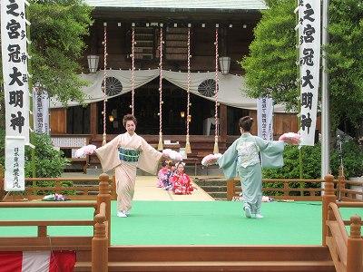 「日本舞踊葉月流」舞踊発表