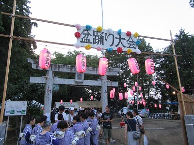 神戸盆踊り大会(木下神社)