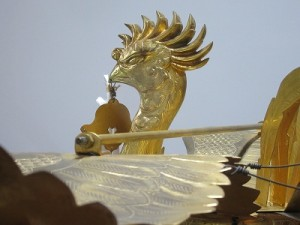 大神輿の鳳凰(ほうおう)