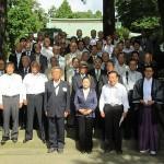 正式参拝後の集合写真