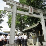 落幡神社(秦野市鶴巻南)
