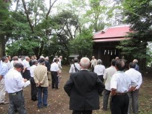 熊野神社(平塚市千須谷)