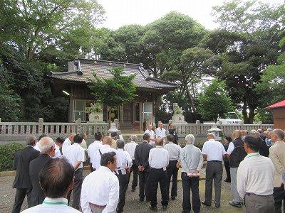 八剱神社(平塚市上吉沢)
