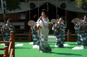 「光風会」唄と舞踊