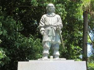 日本武尊御神像 大鳥神社(大阪府堺市)