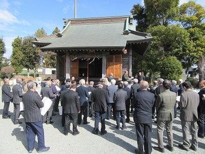 日月神社(伊勢原市沼目)