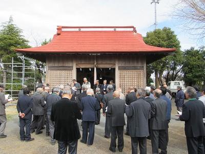 神明社(伊勢原市上平間)