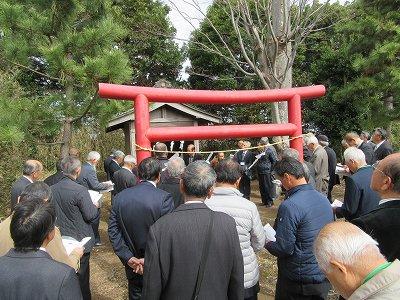 稲荷神社(伊勢原市下平間)