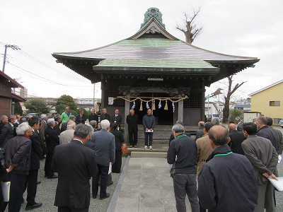 十二柱神社(伊勢原市田中)