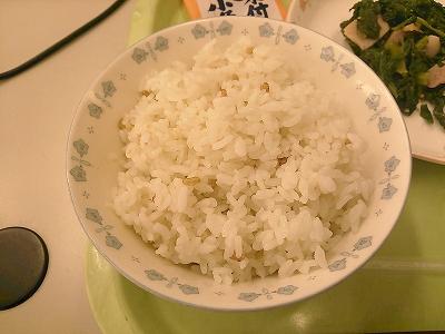 御神田米の給食