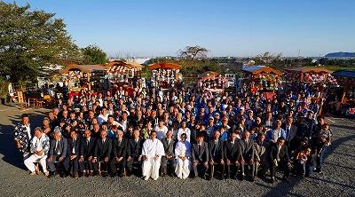 比々多地区戦歿者慰霊祭「鎮魂太鼓奉納」 平成30年撮影