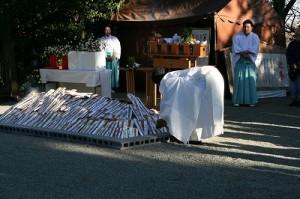 古札焼納祭(今年1月)